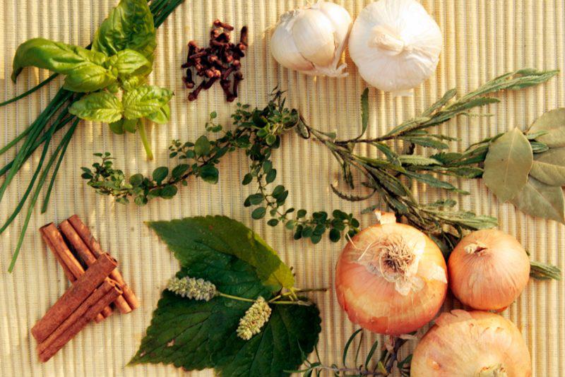 herbs, aromatics